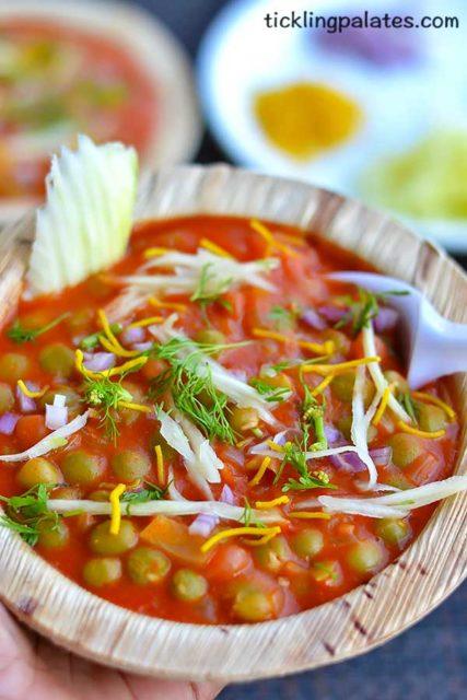 peas chaat recipe