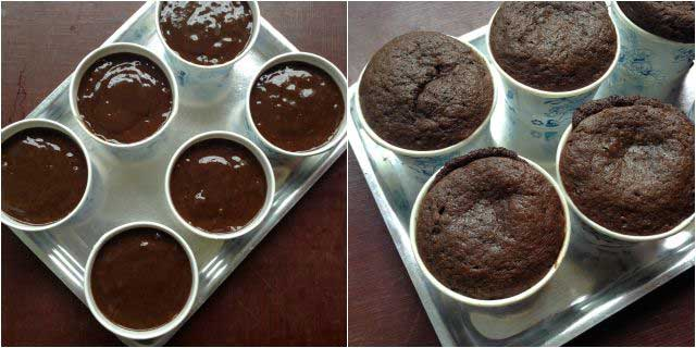 Chocolate Banana muffins step-4
