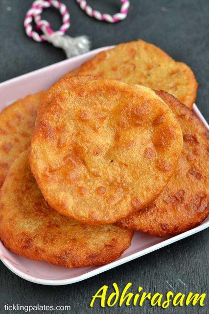 Adhirasam-recipe