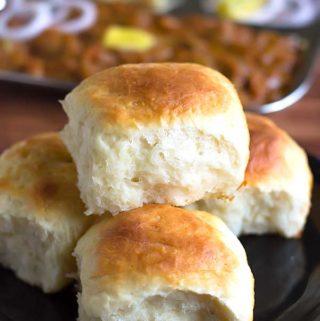 eggless pav buns recipe