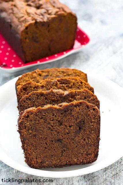 vegan dates cake