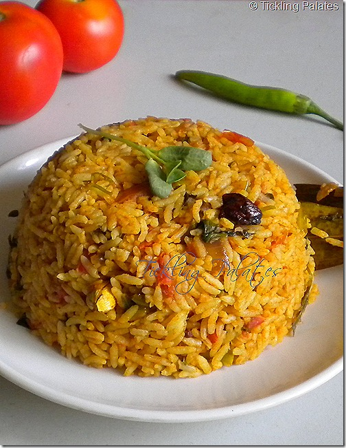 Tomato Methi Pulao Recipe