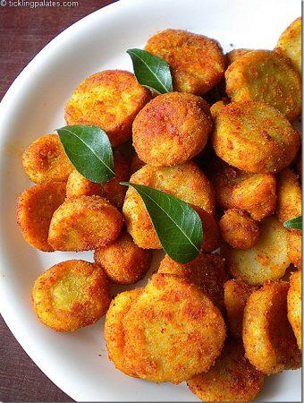 Cheppakizhangu Fry / Arbi Fry / Taro Root Fry