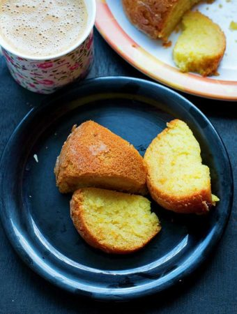 vegan orange cake
