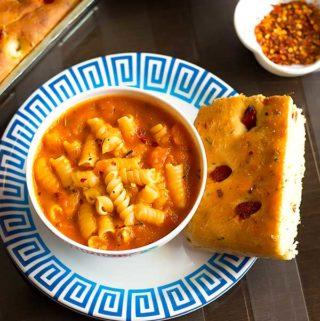 tomato pasta soup recipe