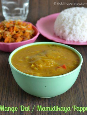 Mamidikaya Pappu Recipe | Mango Dal Recipe
