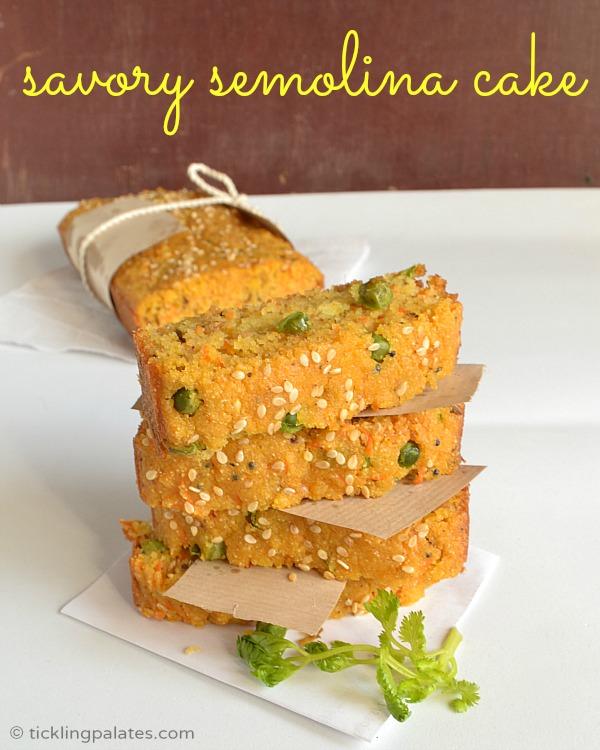 Savory semolina cake eggless cake recipes tickling palates eggless cake recipes forumfinder Gallery