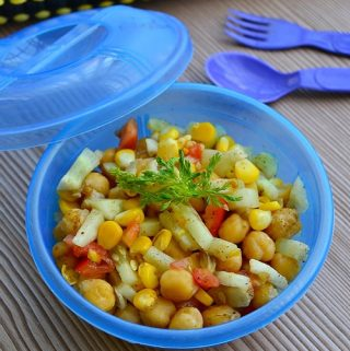 Chick peas Corn Salad