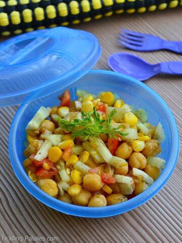 Chick peas Corn Salad