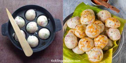 chettinad kara kuzhi paniyaram recipe step3