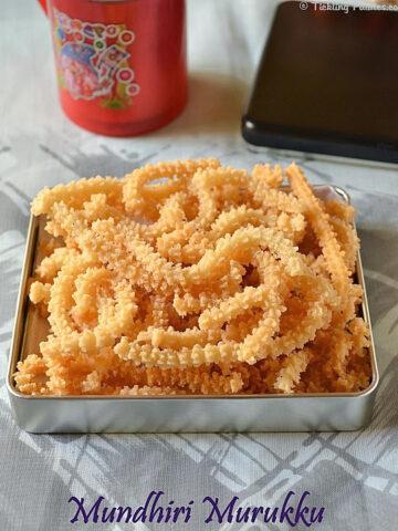 Cashewnut Murukku recipe
