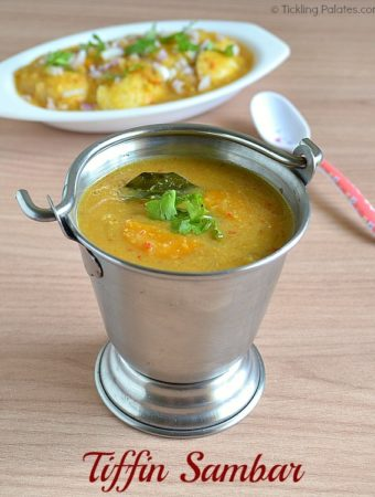 Tiffin Sambar Recipe – Side Dish for Idli/Dosa