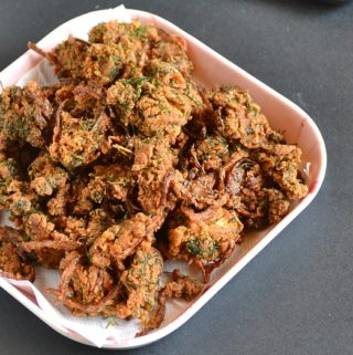 Dill Leaves Pakora Recipe