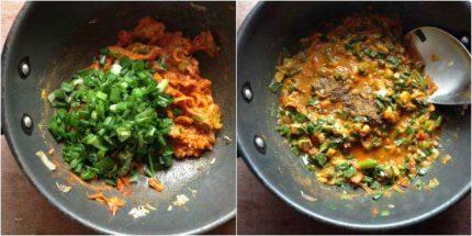 spring onion curry recipe step-3
