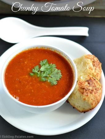 Tomato Soup Recipe | Easy Vegan Soup Recipes