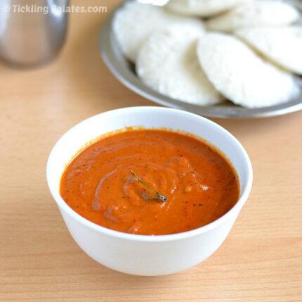 garlic tomato chutney recipe