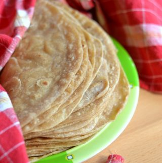 homemade whole wheat flour tortillas recipe