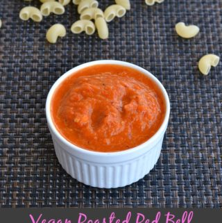 Vegan Roasted Red Bell Pepper Sauce