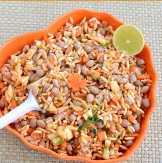beach style masala kara pori recipe