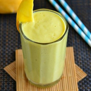 mango oatmeal breakfast smoothie recipe