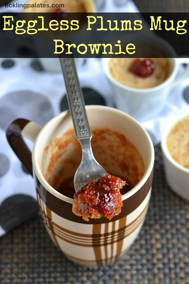 Eggless 2 mins Mug Brownie