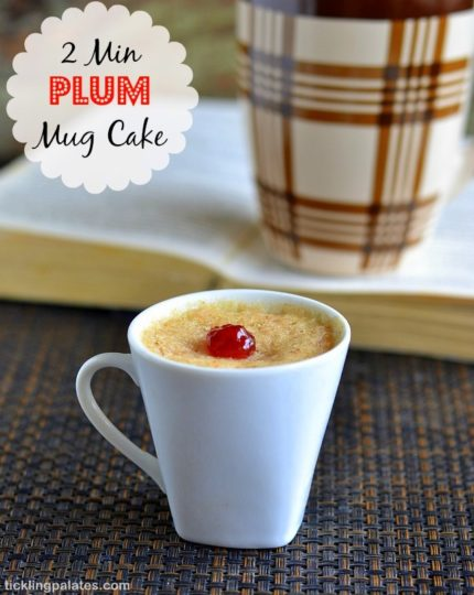 Microwave Eggless Mug Cake Recipe