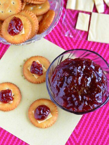 Spiced plum relish recipe