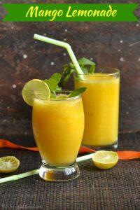 Mango Lemonade Recipe – Easy Mango Recipes