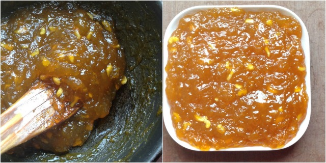 How to make Custard Powder Halwa step 4