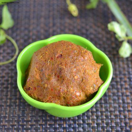 Pirandai-Thogayal-Recipe