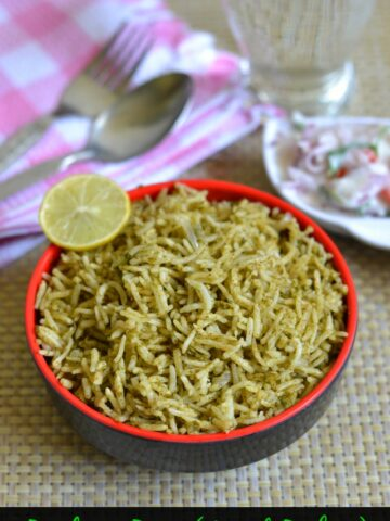 Pudina-Rice-Recipe
