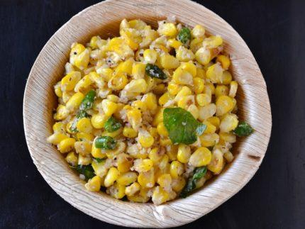 sweet-corn-sundal-for-navratri