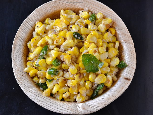 sweet-corn-sundal-for-navratri
