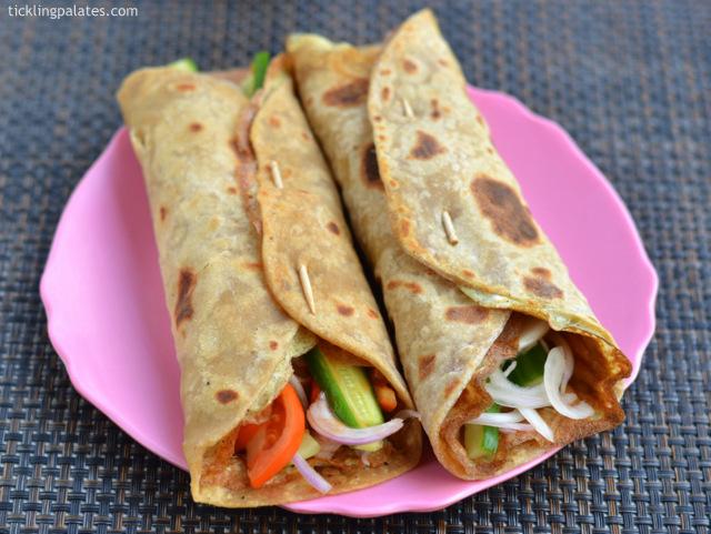 Indian Egg Wrap Recipe