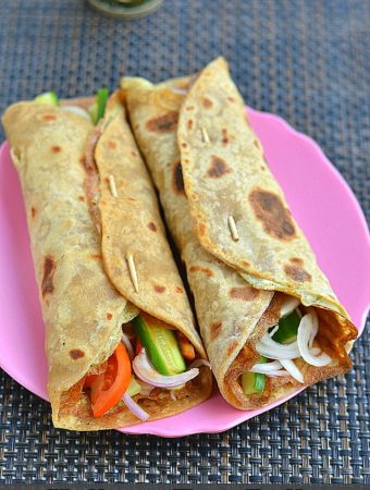 Kolkata Egg Rolls Recipe – How to make Kolkata Style Egg Rolls or Wraps