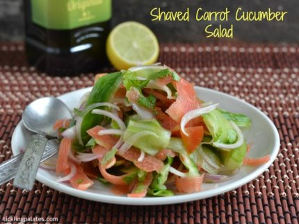 Cucumber Carrot Salad