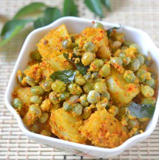 potato thuvarai curry