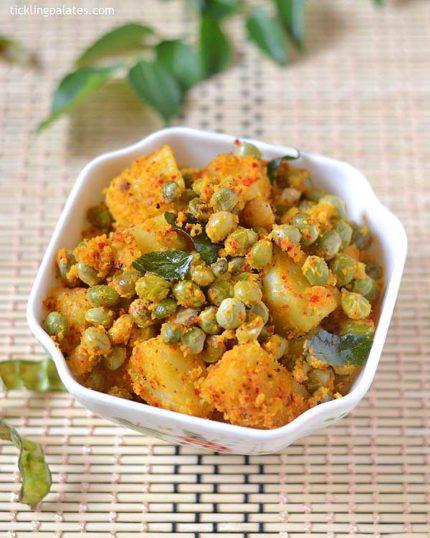 potato thuvarai curry recipe