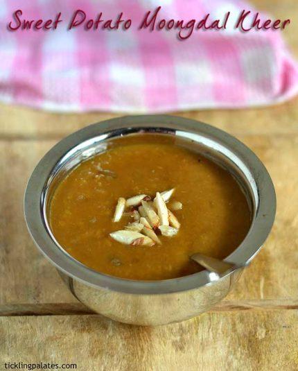 sweet potato kheer recipe