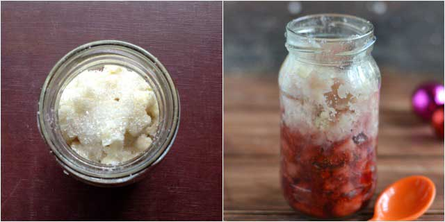 how to make microwave strawberry cobbler-3