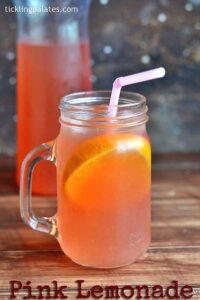Pink Lemonade Recipe – Homemade Pink Lemonade