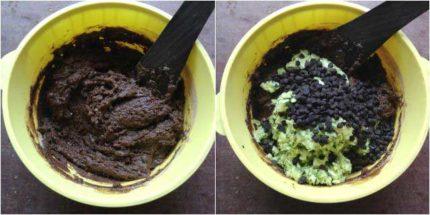 Eggless Double Chocolate Zucchini Bread step-4
