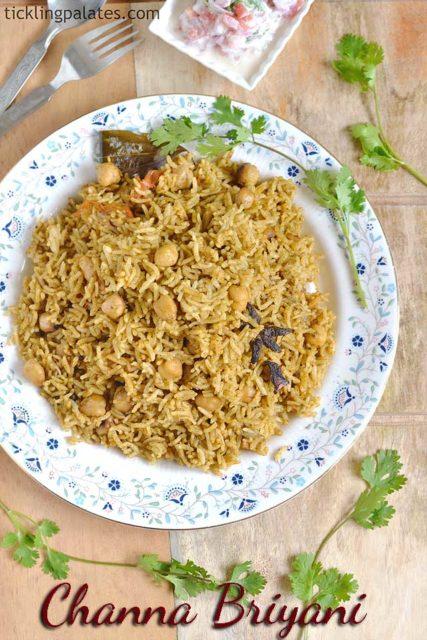 Chana Biryani recipe