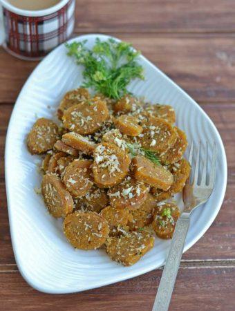 Zucchini Muthia – Steamed Zucchini Muthia Recipe