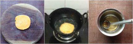 Badam Puri recipe06