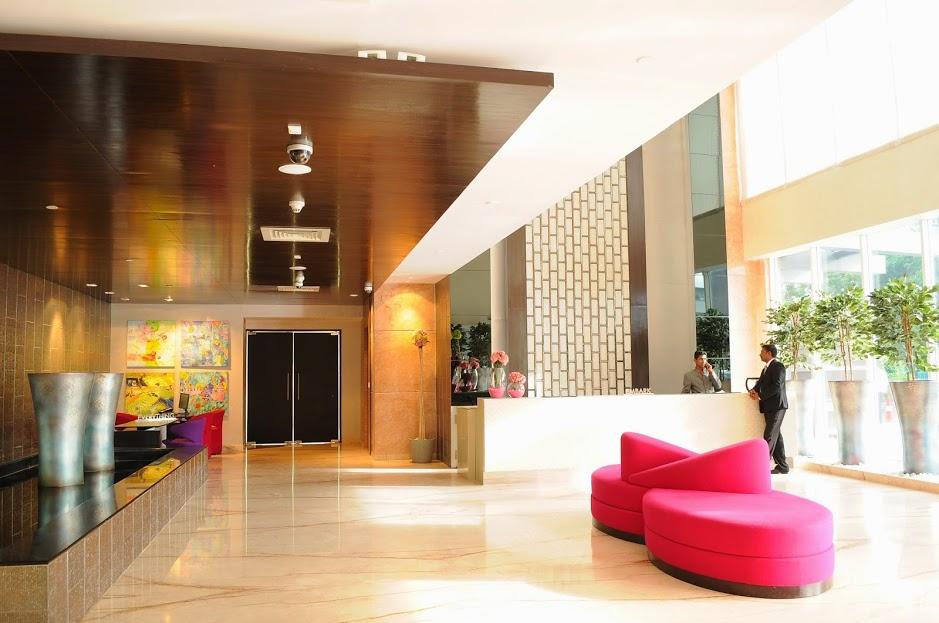Lobby of E-Hotel