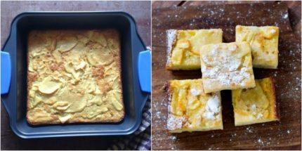 custardy apple squares recipe8