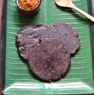 Spicy Ragi Adai Recipe
