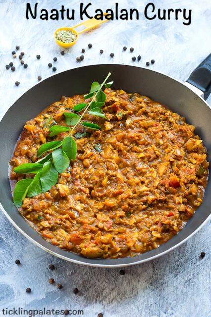 south indian mushroom curry recipe