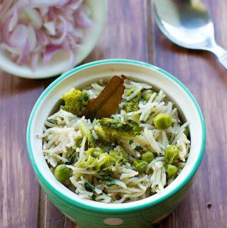 Broccoli Pulao Recipe